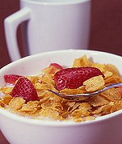 Cereal With Low Fat Milk